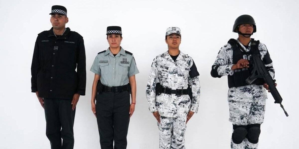 Sedena presenta uniformes para la Guardia Nacional