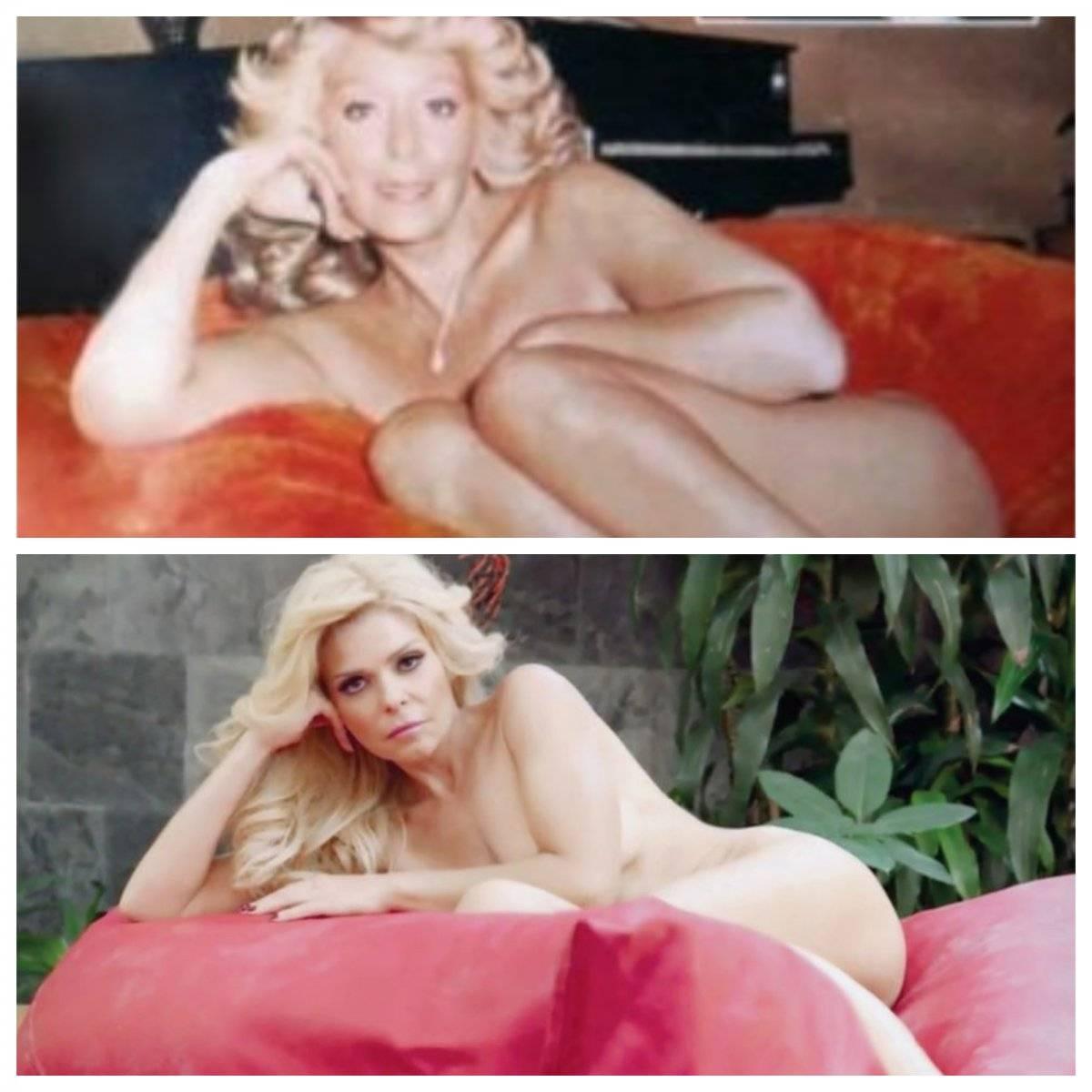 Silvia Pinal e Itatí Cantoral