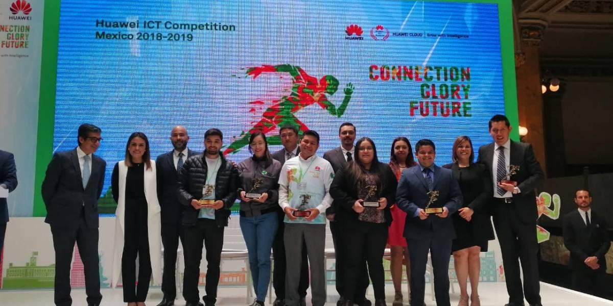 Huawei reconoce a estudiantes mexicanos y los lleva a China a competir
