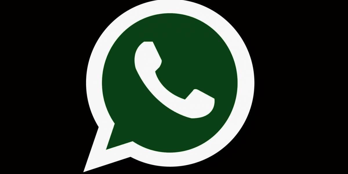 Estas serían las primeras imágenes del modo oscuro de Whatsapp para Android