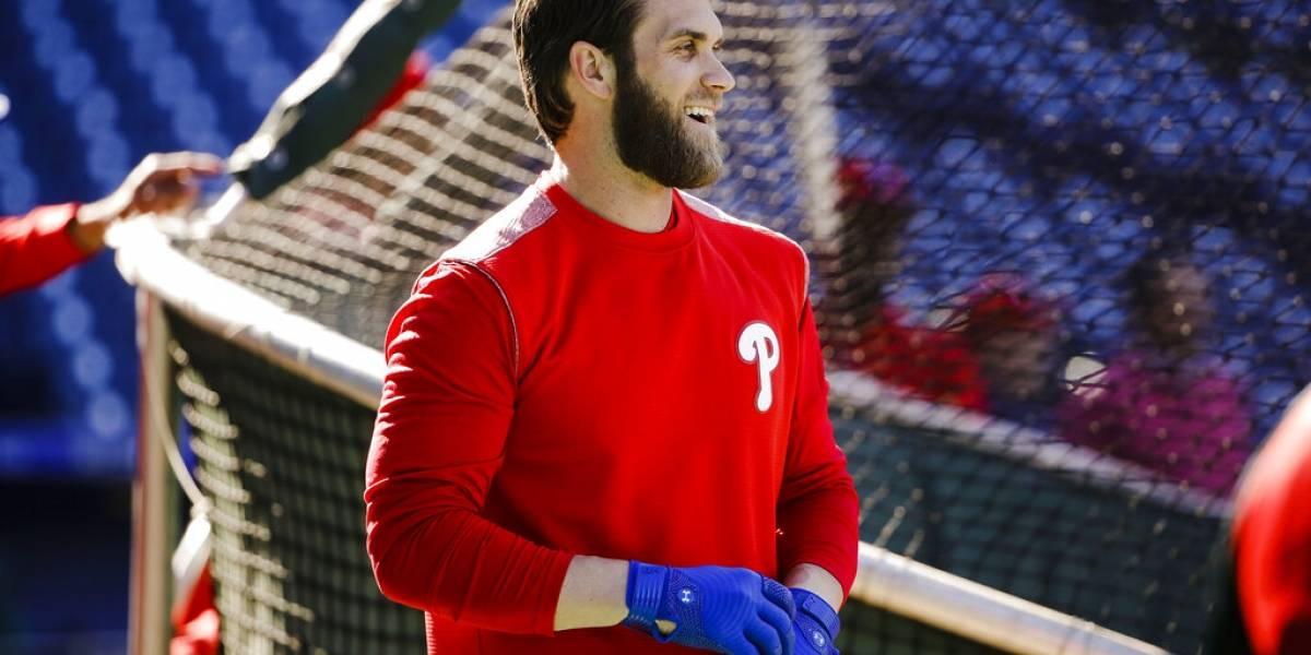 Harper desplaza a Judge por camiseta más vendida en MLB