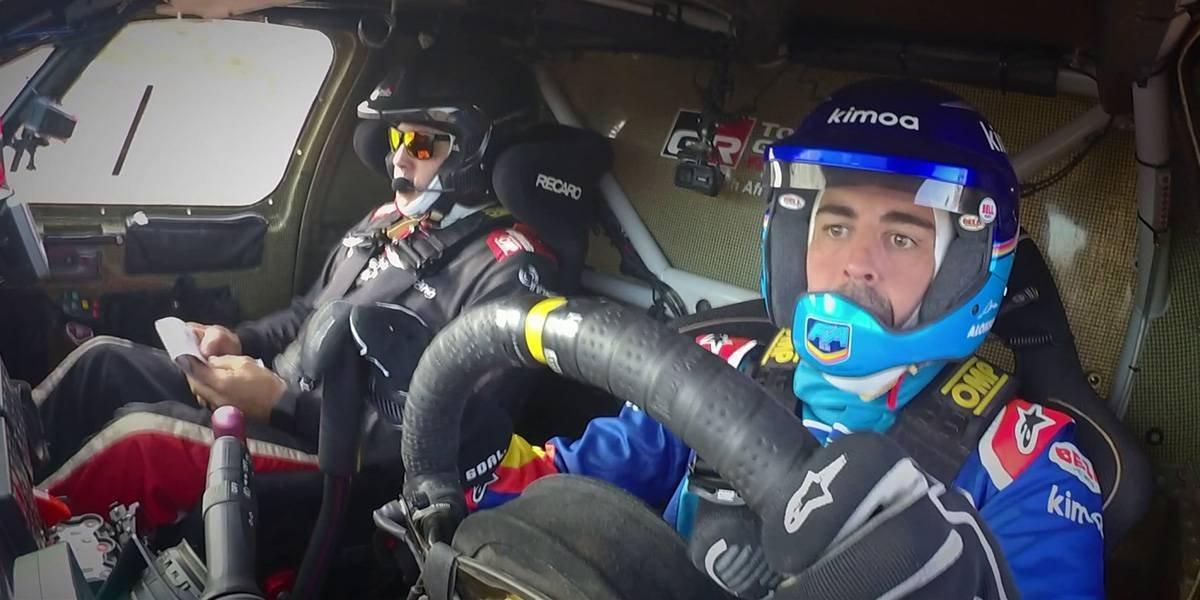 Fernando Alonso se va de la F1 pero arrasará en el Dakar y en Nascar