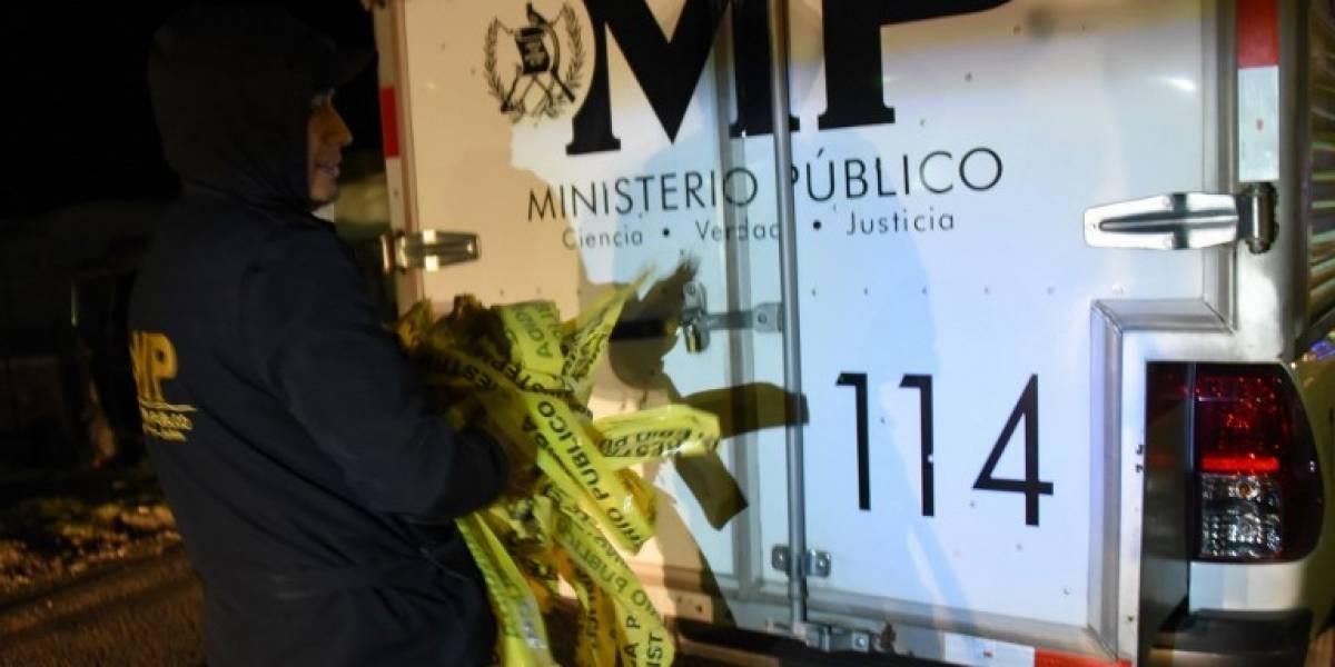 Ministerio Público confirma cifra de fallecidos por accidente en Nahualá