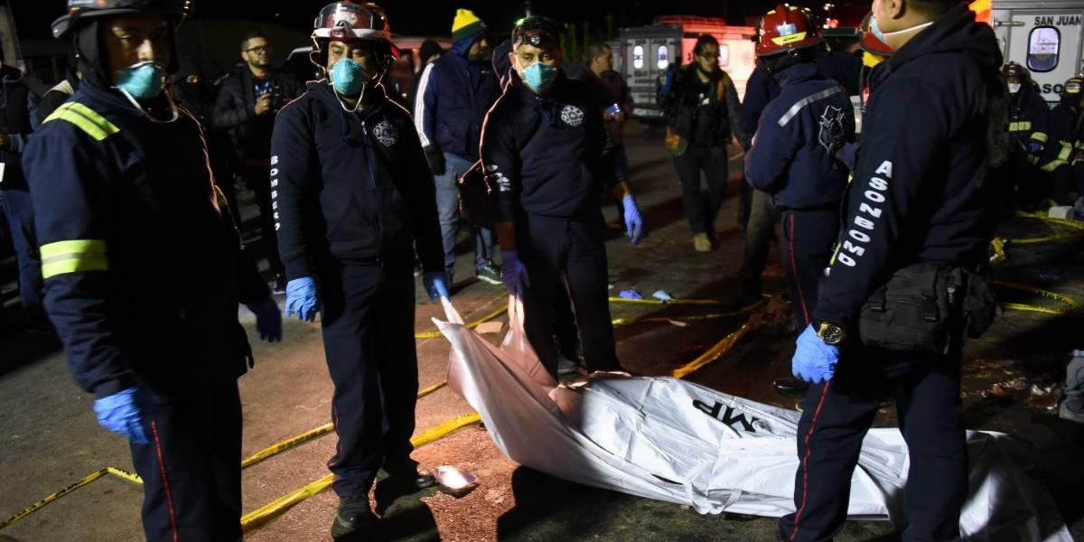 Traileros centroamericanos defienden a piloto involucrado en accidente en Nahualá