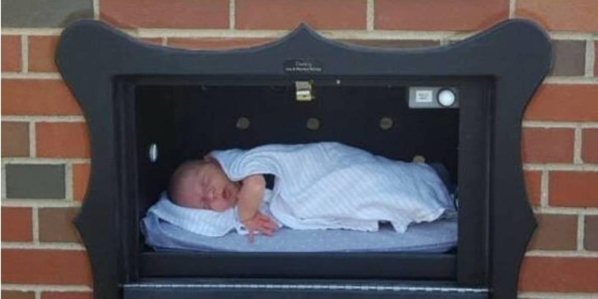 Polémica en Estados Unidos por buzón para dejar a bebés no deseados