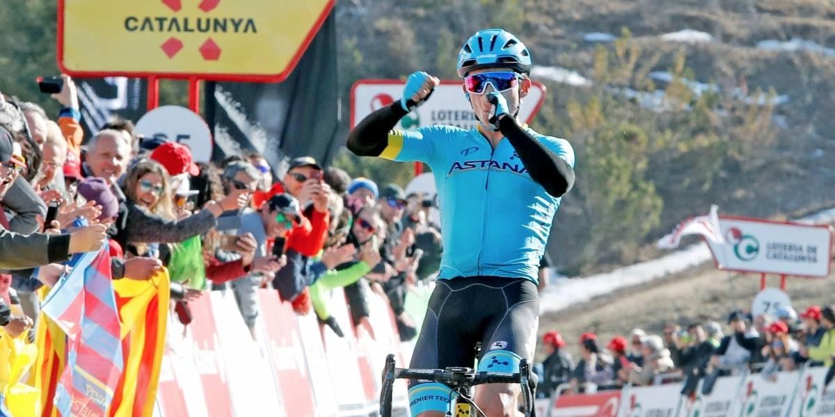 La emotiva dedicatoria de Miguel Ángel López tras su victoria en la Vuelta a Cataluña