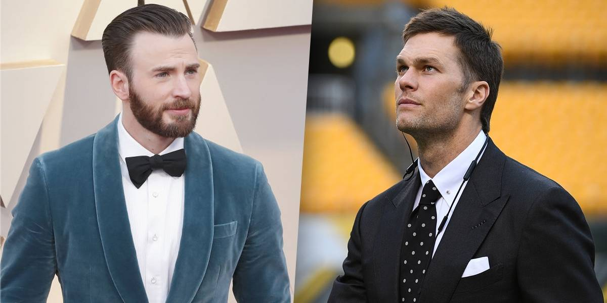 Chris Evans se recusa a interpretar Tom Brady no cinema enquanto o jogador apoiar Trump