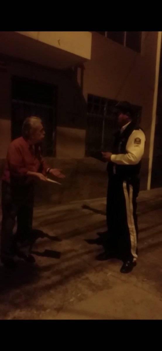 Citación a hombre que se estacionó en la ruta del tranvía de Cuenca