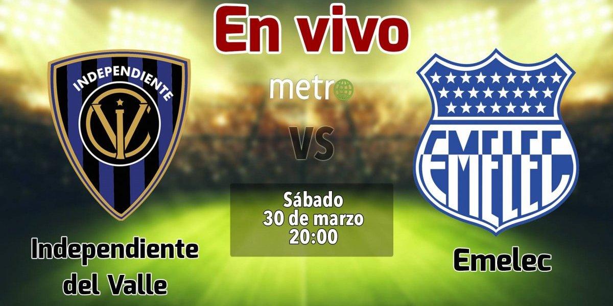 Liga pro Ecuador: Independiente del Valle vs Emelec. En vivo, donde ver el partido, hora y alienaciones