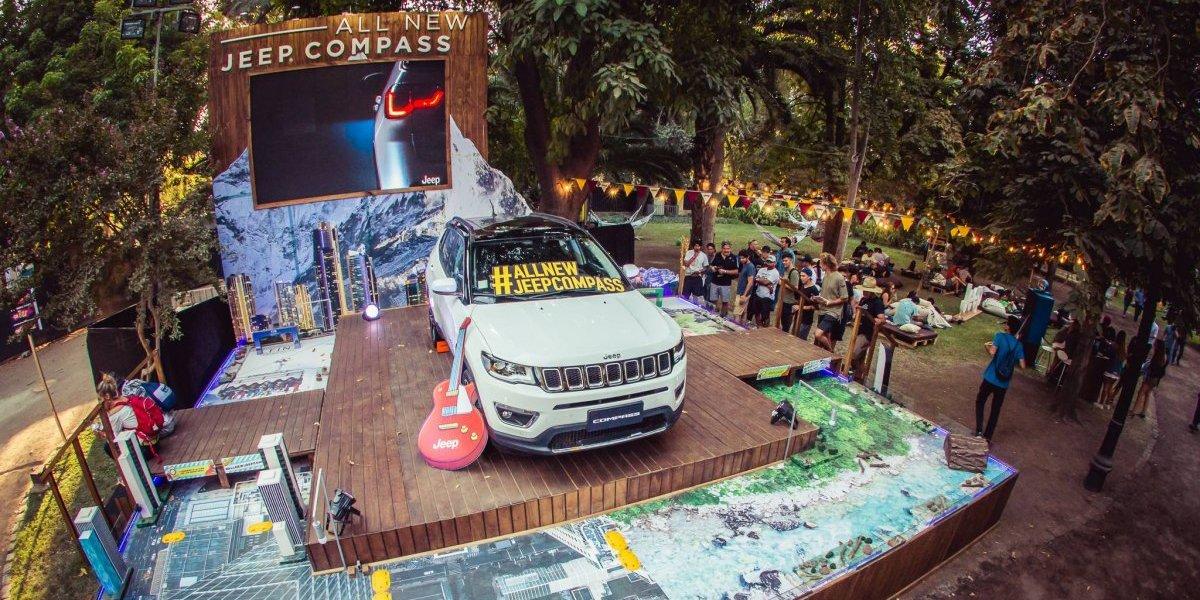 Jeep vuelve a decir presente en el Lollapalooza