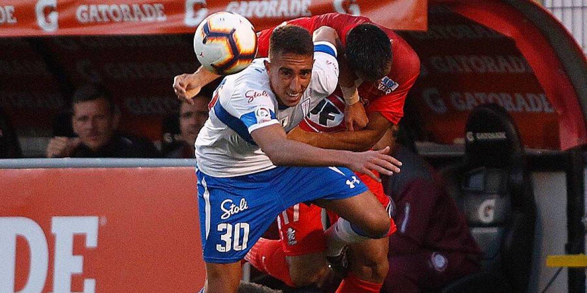 Diego Valencia asoma como la gran novedad de la UC para enfrentar a Curicó