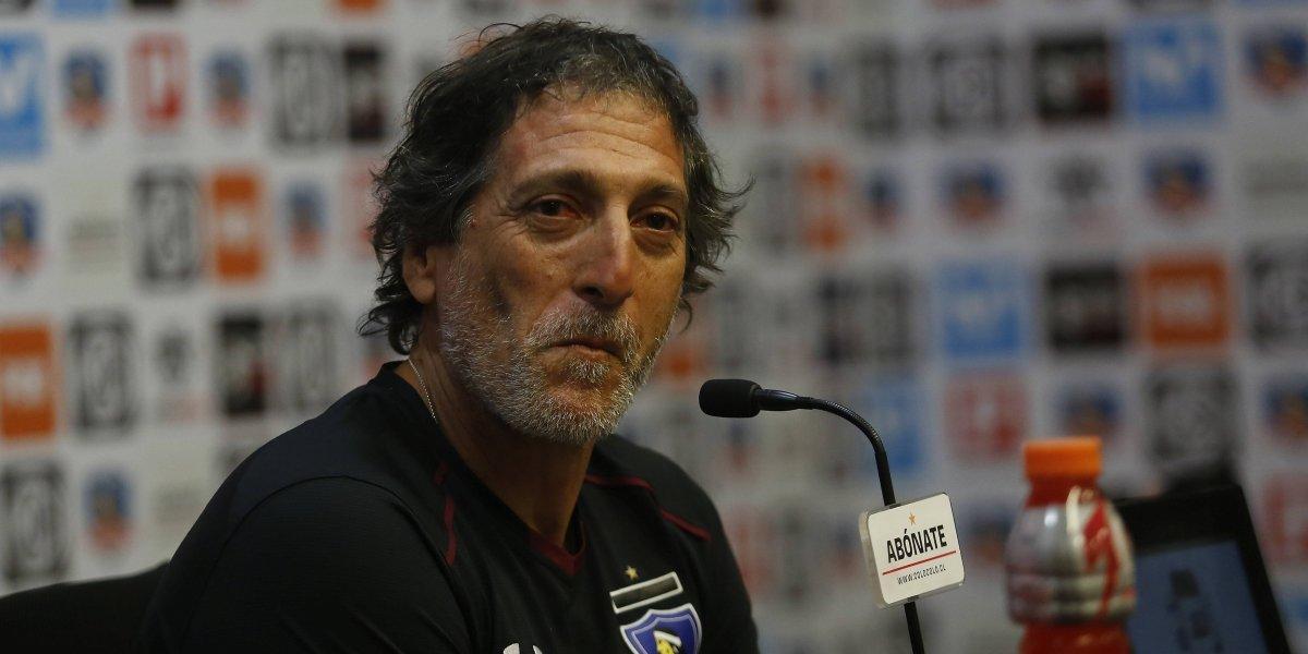 """Mario Salas se moldea en Colo Colo: """"Si llega el momento de dosificar, lo vamos a hacer"""""""