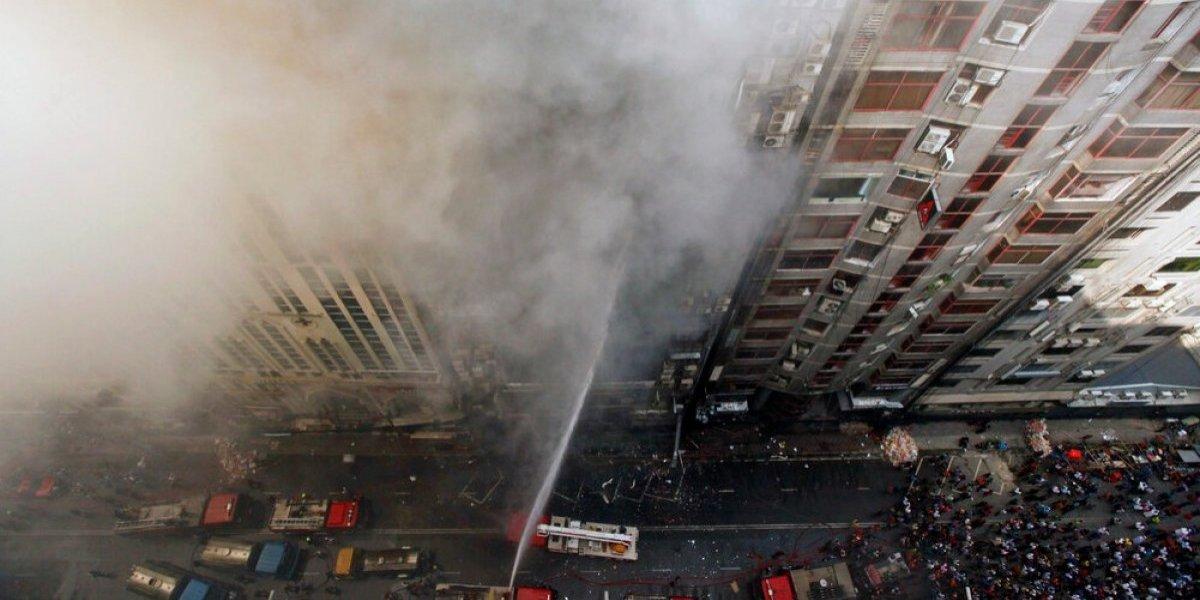 Fuego en Bangladesh deja casi 20 muertos