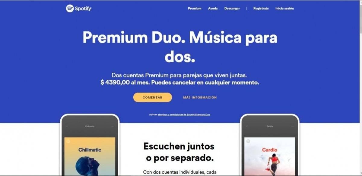 Spotify presenta suscripción Premium Duo: diseñado especialmente para las parejas