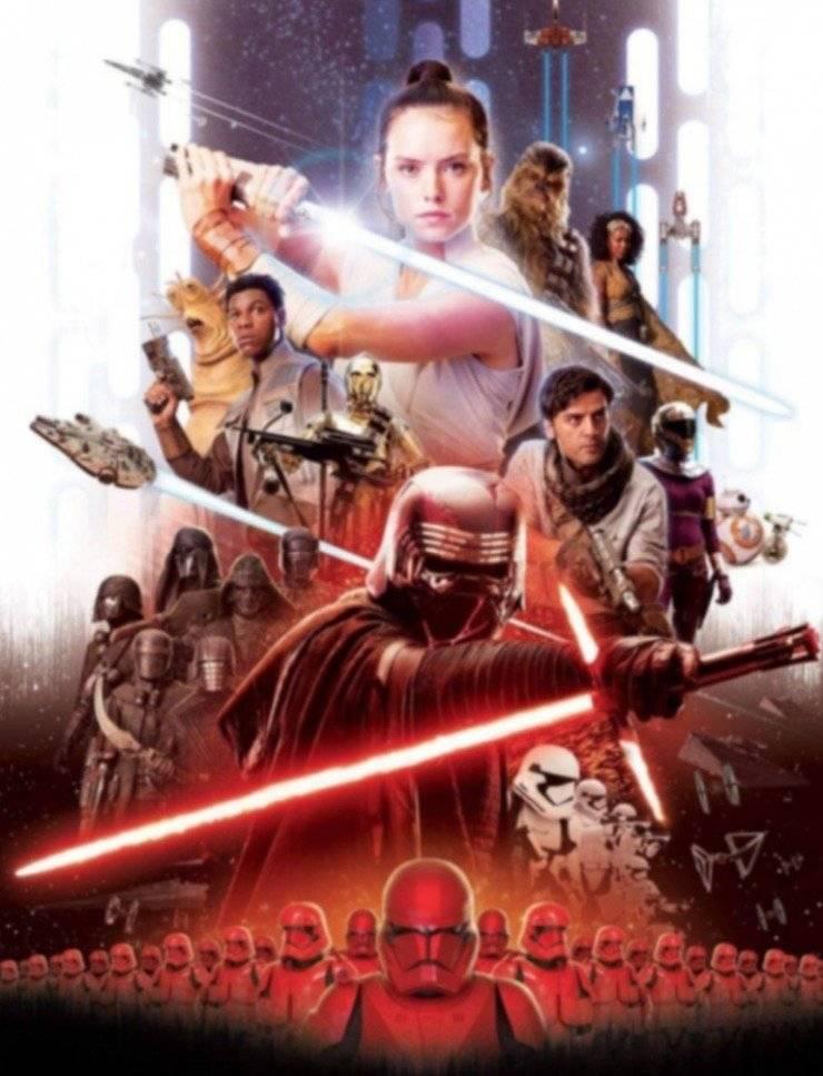 Se filtra póster y galería de personajes del Episodio IX de Star Wars
