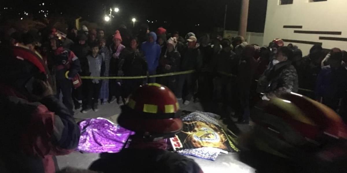 PNC inicia búsqueda de piloto que arrolló a personas en Nahualá