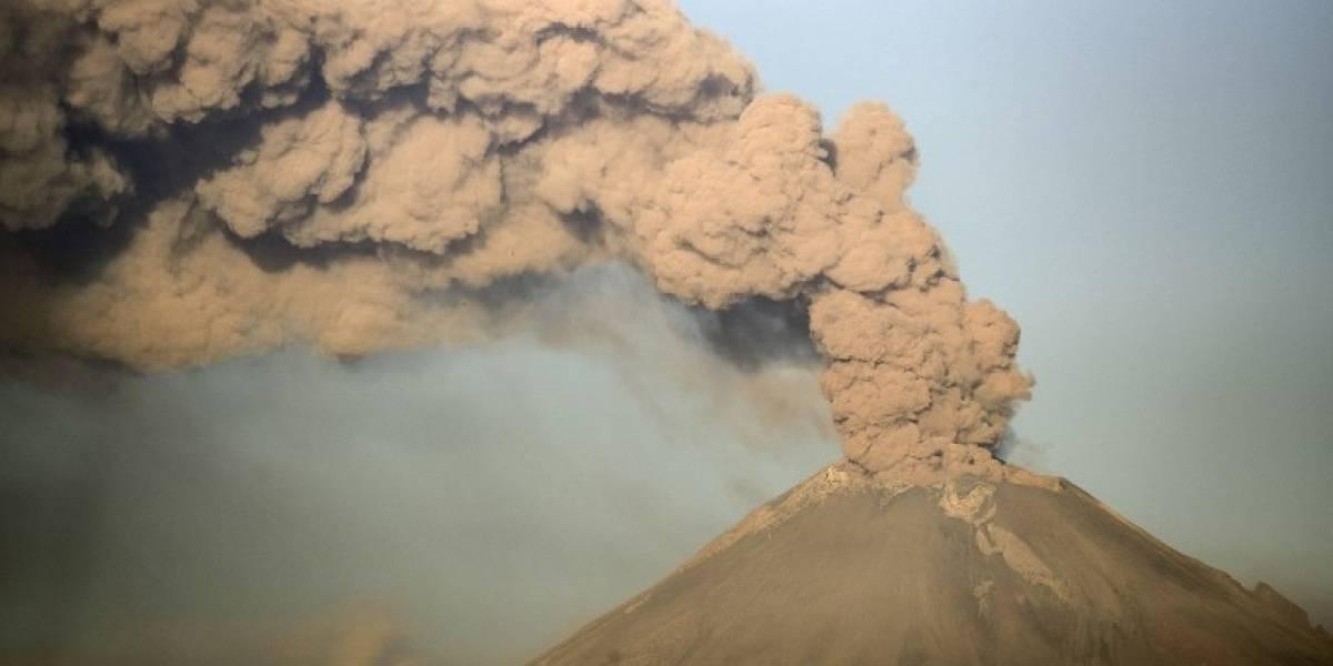 México en alerta por aumento de actividad del volcán Popocatépetl