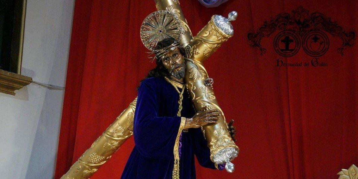 Se cumplen 20 años de la torrencial lluvia que no dejó procesionar a Jesús Nazareno Redentor del Mundo