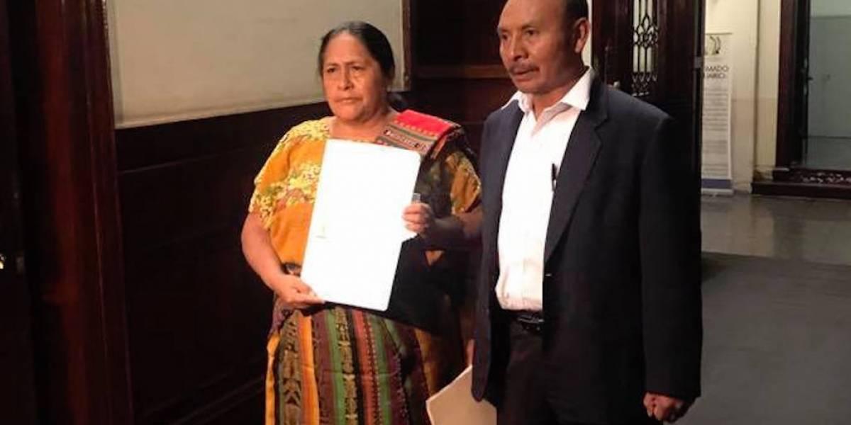 URNG denuncia discriminación en contra de vicepresidenciable