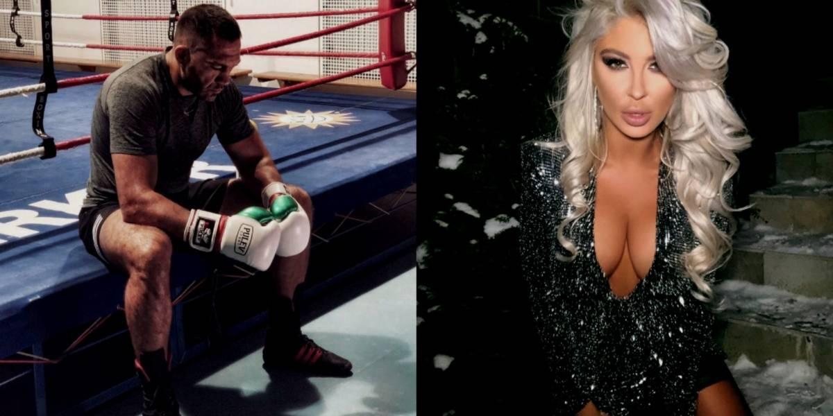 Se pronuncia la novia del boxeador que besó a periodista