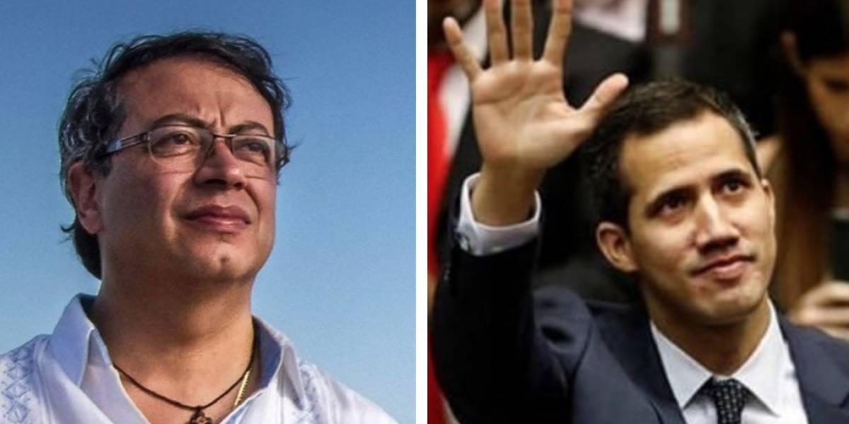 El mensaje de apoyo de Petro a Guaidó tras decisión de gobierno de Maduro