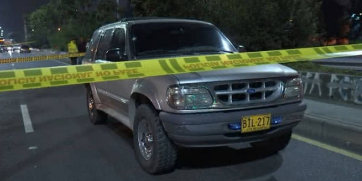 Mujer resultó gravemente herida en medio de una balacera en Bogotá
