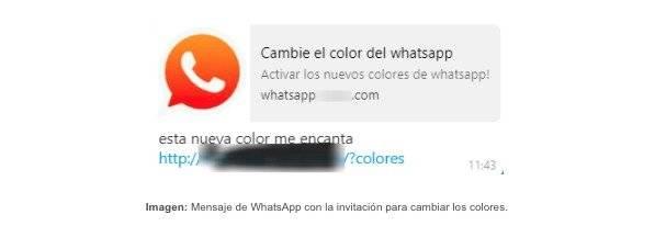 Nuevo engaño en WhatsApp