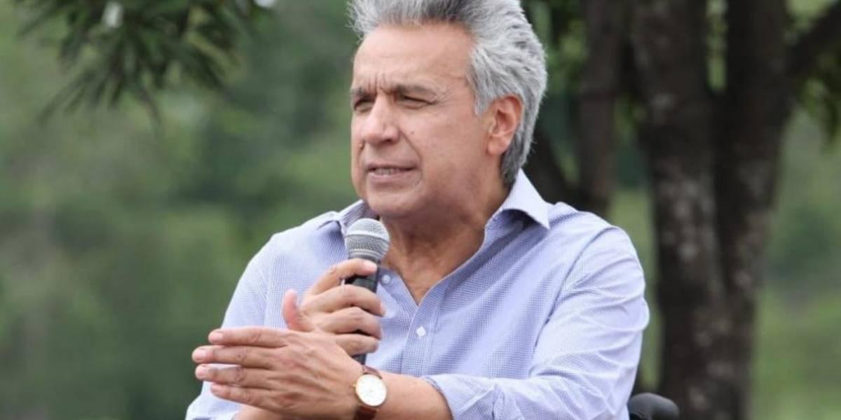 Presidente Lenín Moreno habla sobre fotografías suyas y de su familia que circulan en redes