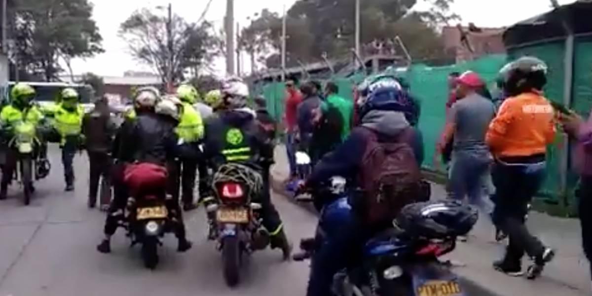 Presunto ladrón muere en enfrentamiento con la Policía en Bogotá