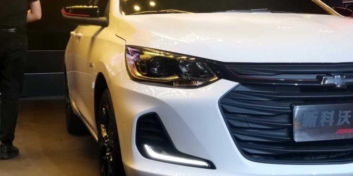 Novas fotos do Chevrolet Prisma 2020 são divulgadas; modelo foi apresentado no Salão de Bangkok 2019