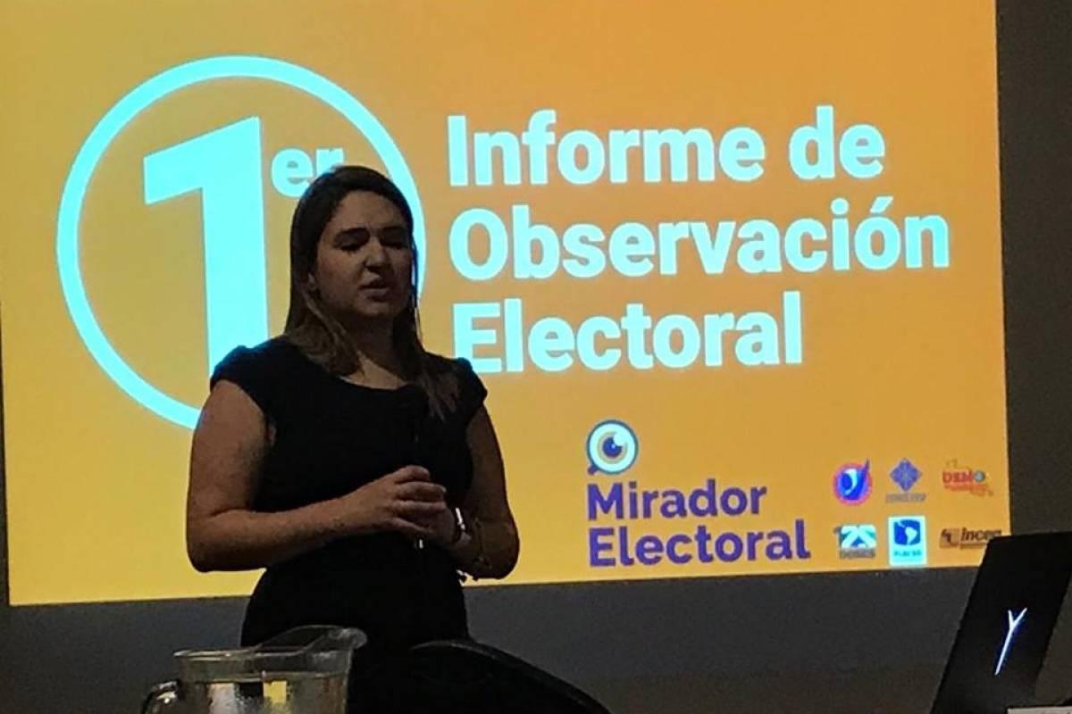 Conflictividad social durante las elecciones generales de 2019. Foto: Emisoras Unidas