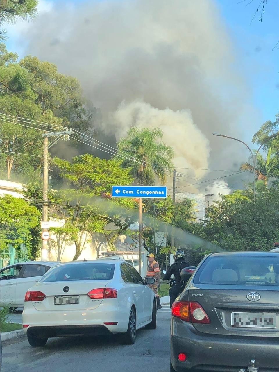incêndio zona sul
