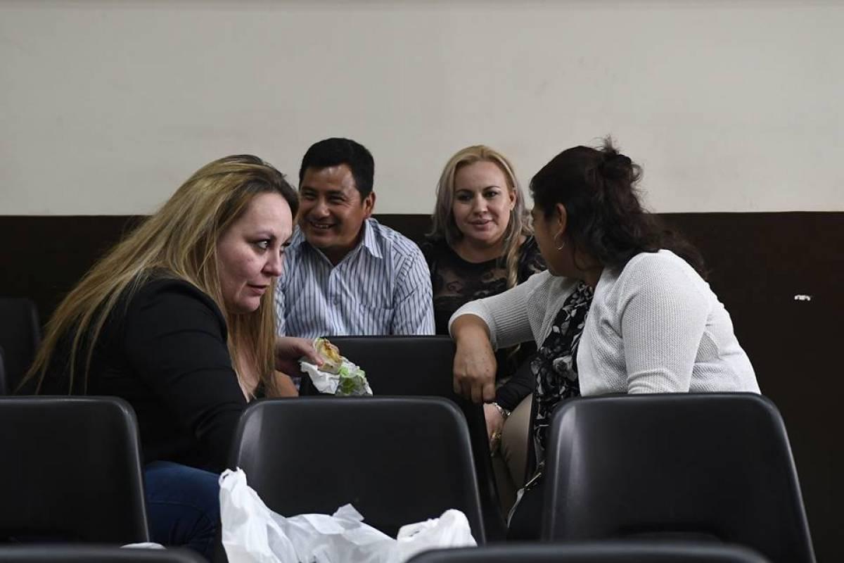 """Audiencia de apertura a juicio por el caso """"La Sexta"""". Foto: Omar Solís"""