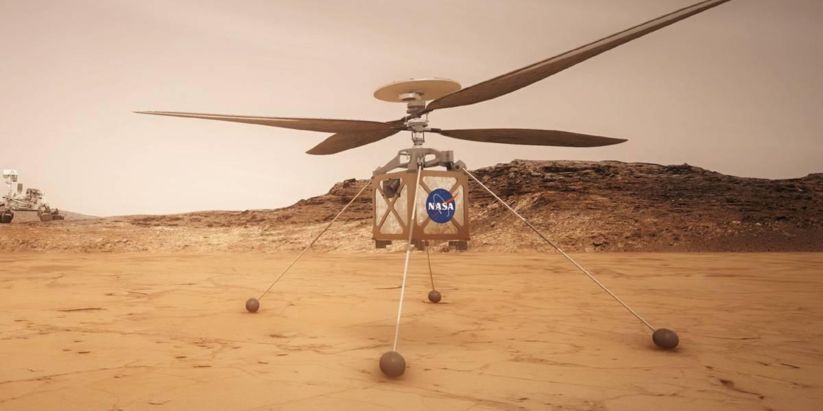 NASA prueba helicóptero que volará en Marte