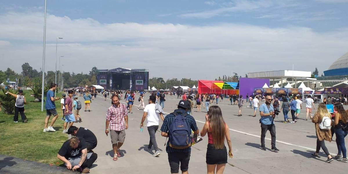 Lollapalooza 2019: Calor y accesos expeditos marcaron el inicio de su novena edición