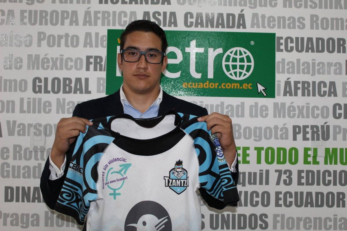 Ángel Arteaga, Tzantza Rugby