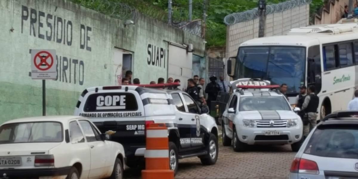 Presídio é evacuado na Grande Belo Horizonte por risco de rompimento de barragem