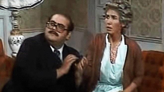 Señor Barriga y Doña Florinda
