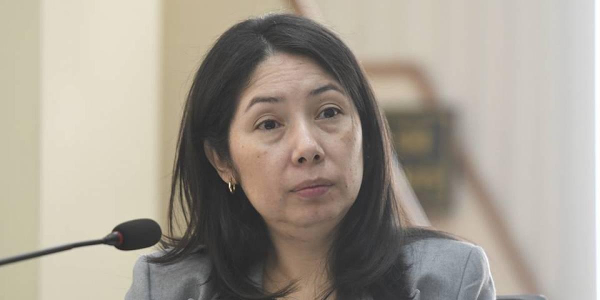 Jueza Erika Aifán presenta denuncia por supuesta filtración de información