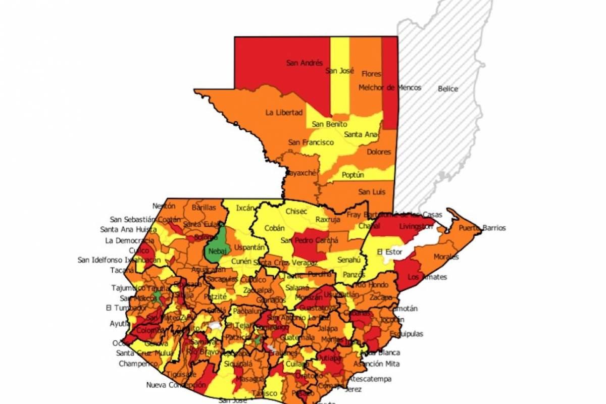 Mapa de conflictividad social. Foto: Mirador Electoral