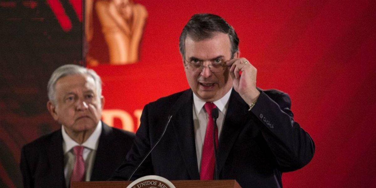 México es el mejor vecino que puede tener EU, asegura Marcelo Ebrard