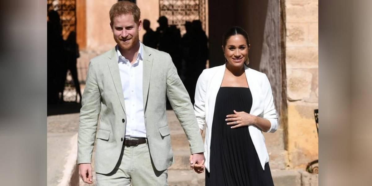 Príncipe Harry e Duquesa Meghan se referem a futuro filho como 'Baby Sussex'