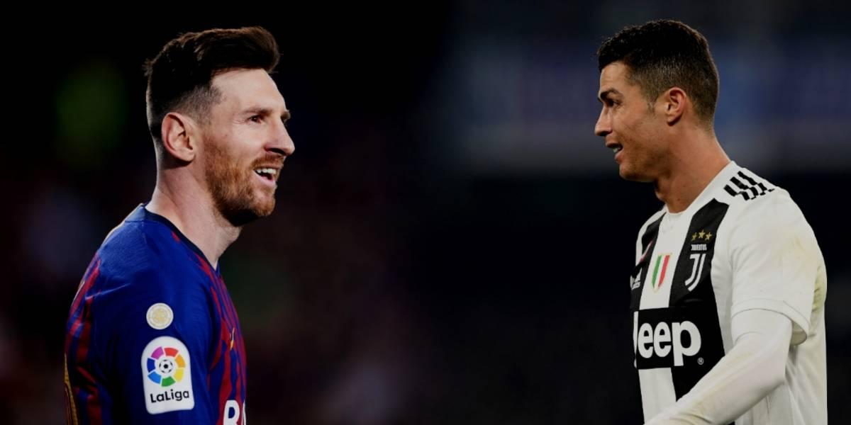 Cristiano Ronaldo, fuera del Top 5 de Leo Messi