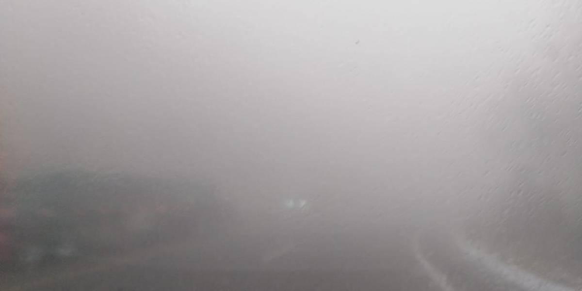 Estas son las rutas donde la neblina exige más precaución a automovilistas