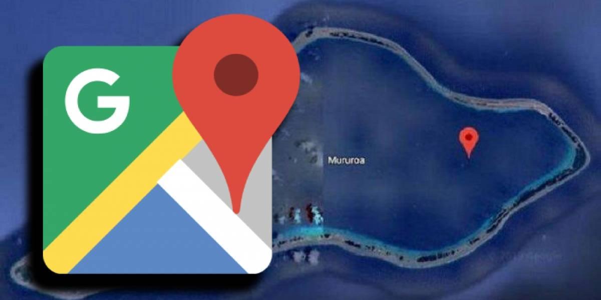 Google Maps censura una isla del Pacífico Sur por motivos escalofriantes
