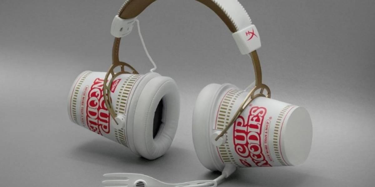 HyperX y Cup Noodles hacen equipo para traer audífonos en forma de sopa