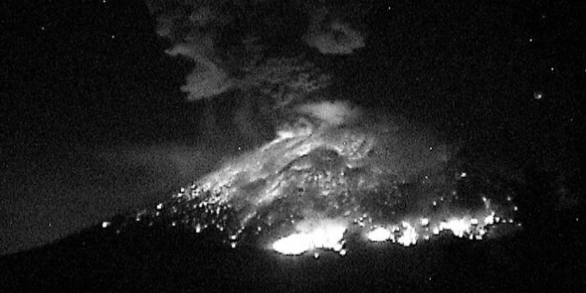 ¿Qué está pasando con el volcán Popocatépetl en México?