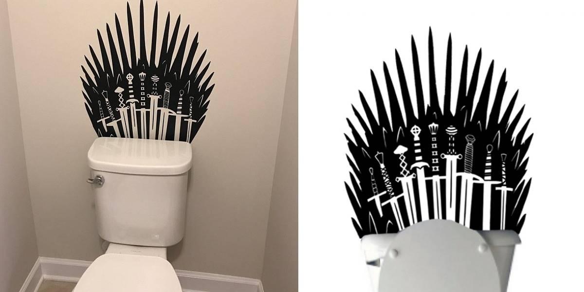 Game of Thrones: adesivo de parede transforma sua privada no Trono de Ferro