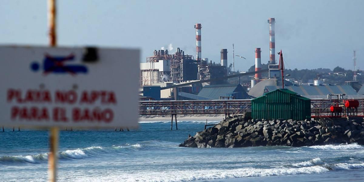 Se viene la COP-25 pero nada cambia: denuncian nuevo episodio de contaminación en Quintero con 13 menores intoxicados