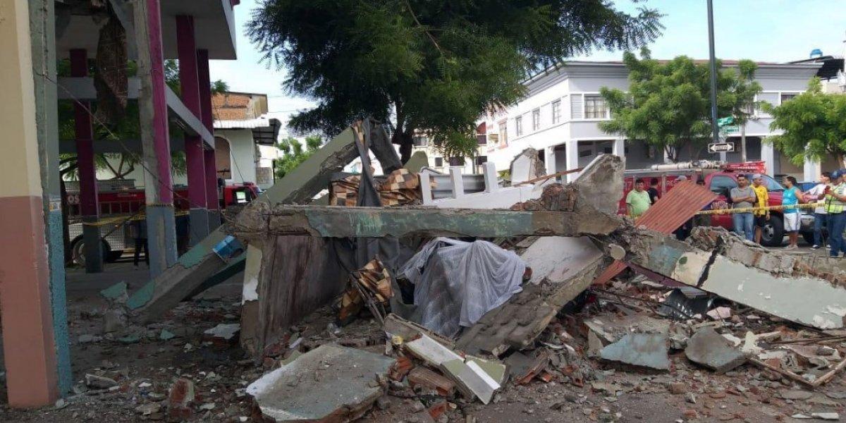 Guayaquil: Edificio se desplomó sin dejar víctimas mortales